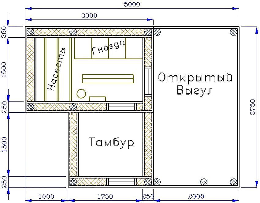 kak-postroit-krasivyj-kuryatnik-chertezhi-i-instruktsii-po-stroitelstvu-4